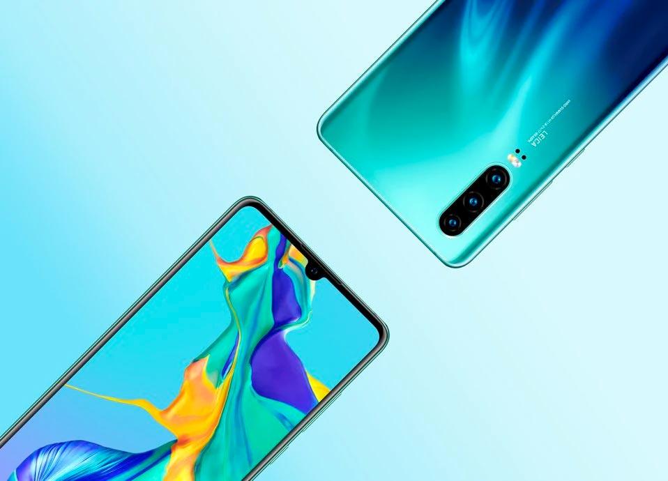Huawei P30 render stampa
