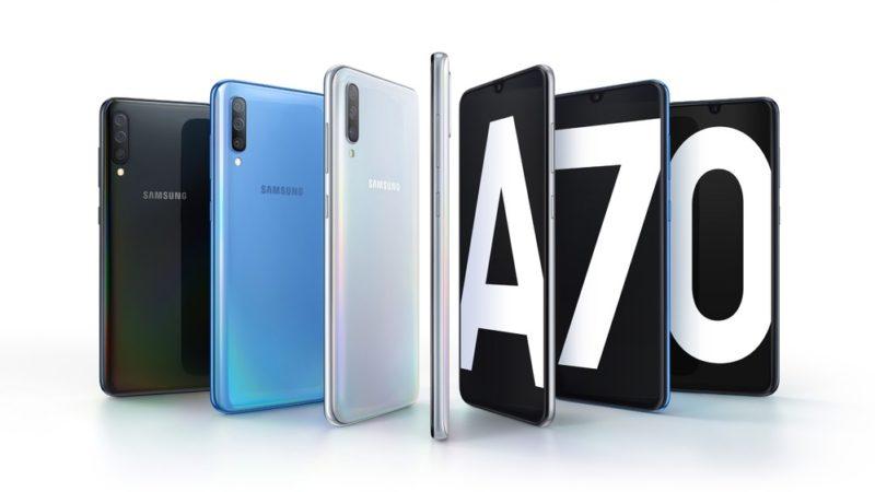 Samsung Galaxy A70 smartphone di fascia media
