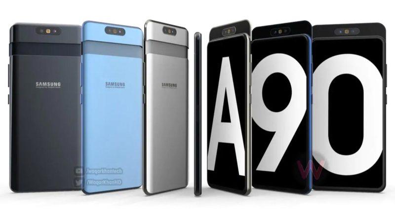 Samsung galaxy a90 indiscrezioni