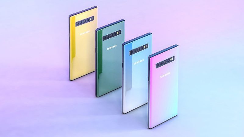 Samsung galaxy note 10 due versioni