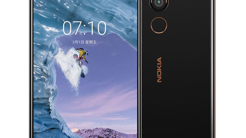 Nokia 8.1 plus immagine