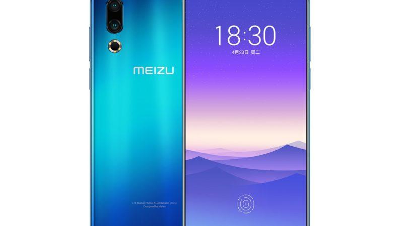 Meizu 16s presentazione ufficiale