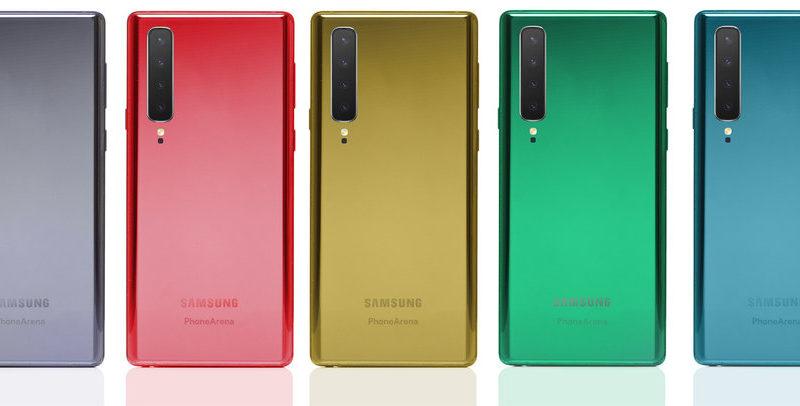 Samsung galaxy note 10 fotocamere posteriori