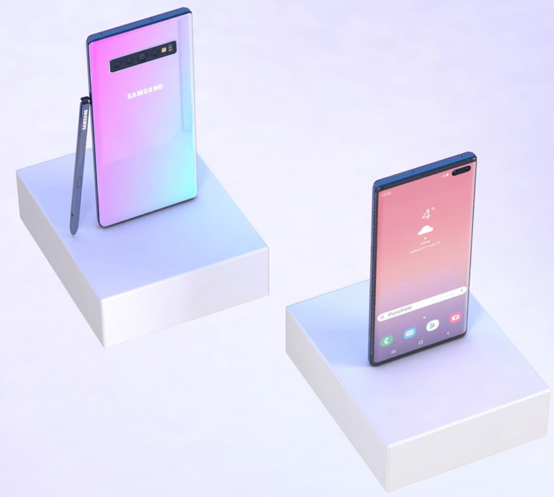samsung galaxy note 10 render