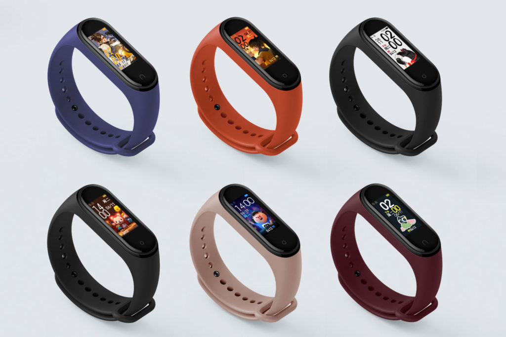 Xiaomi mi band 4 colorazioni