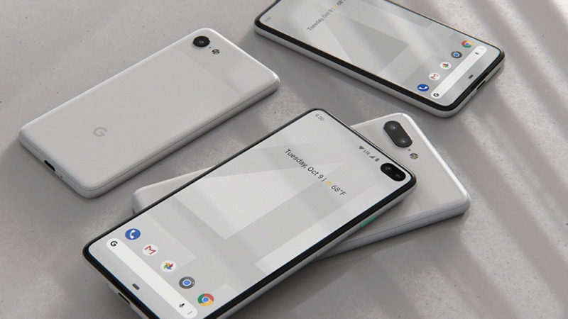 Google pixel 4 rumors design