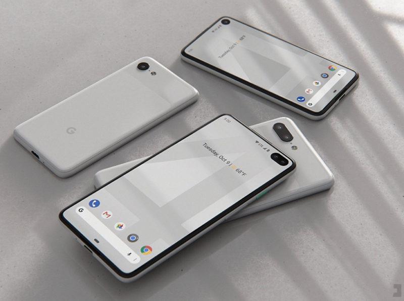 Google pixel 4 rumors design