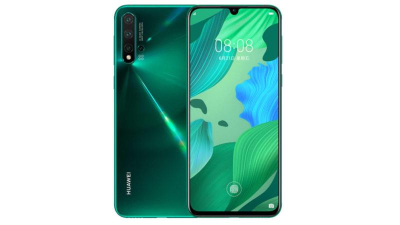 Huawei Nova 5 pro colorazione verde