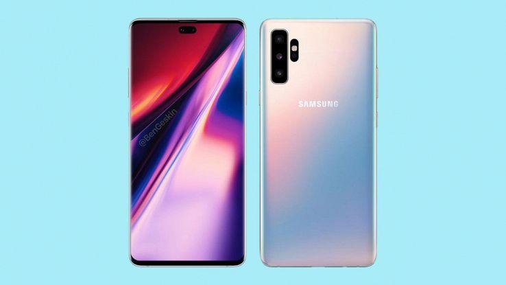 Samsung galaxy note 10 rumors design