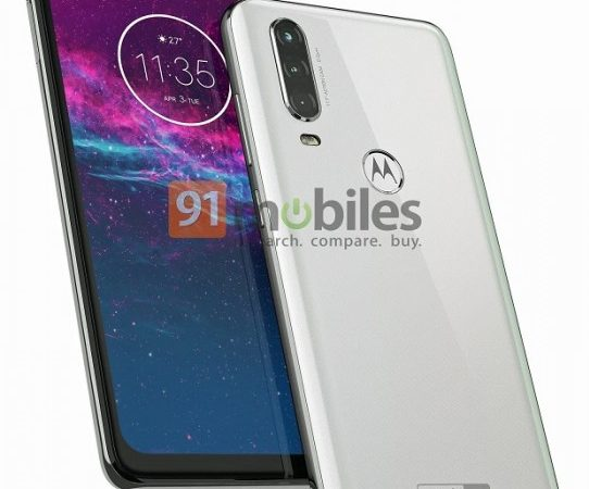 Motorola One action design