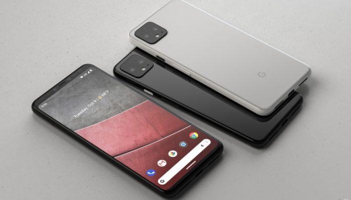 Google pixel 4 fotocamera quadrata