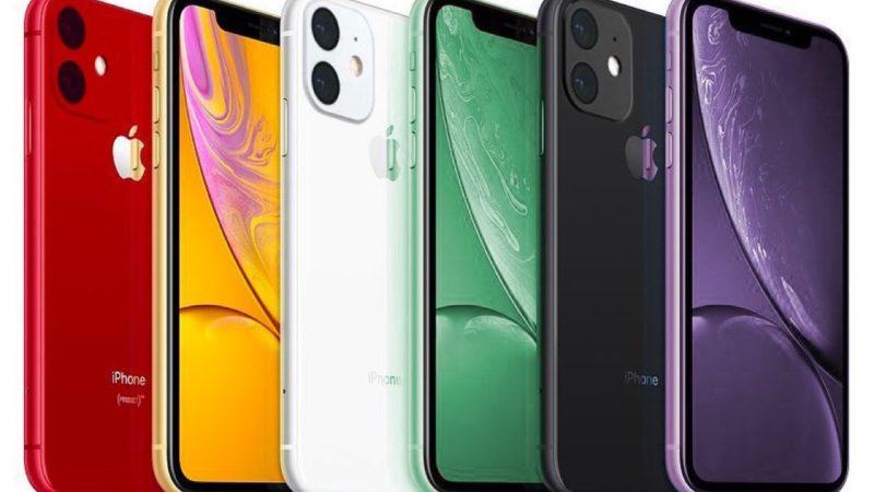iPhone XR 2019 colorazioni