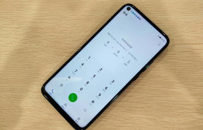Huawei Mate 30 lite display