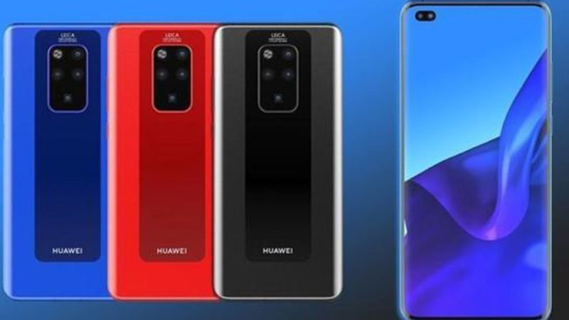 Huawei Mate 30 pro fotocamera posteriore