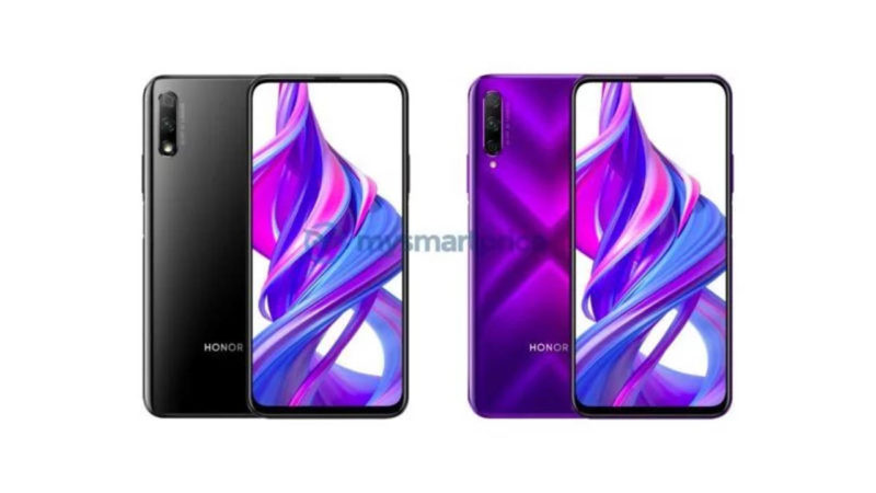 Honor 9x render stampa