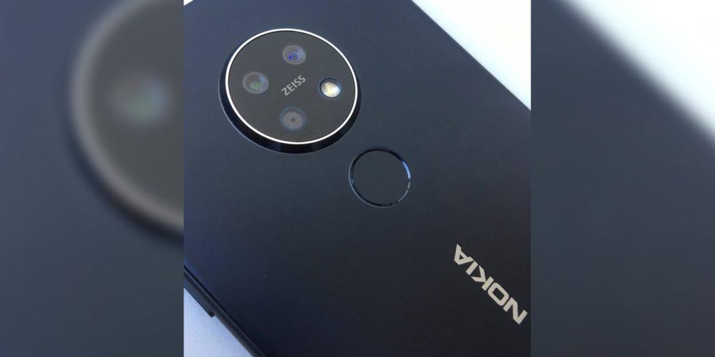 Nokia 7.2 fotocamera posteriore circolare