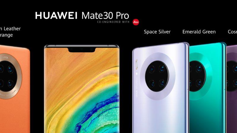 Huawei Mate 30 Pro caratteristiche tecniche