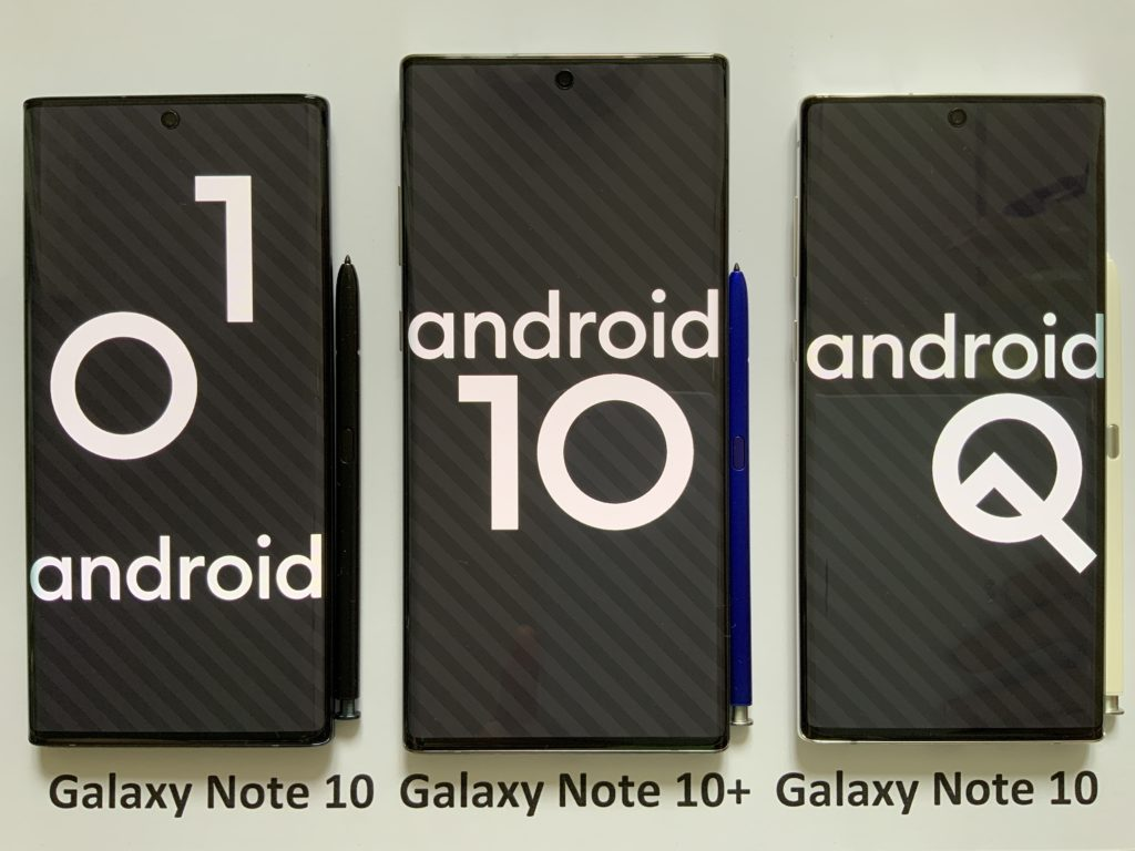 android 10 per samsung