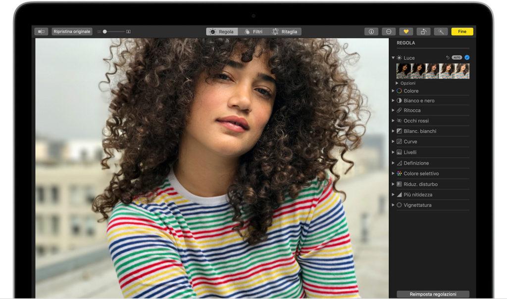 Come tagliare una foto con Mac