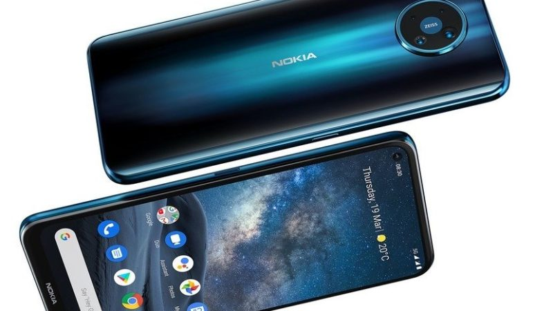 Nokia 8.3 5G ufficiale