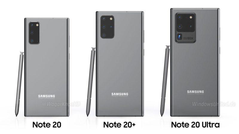 samsung galaxy note 20 memoria