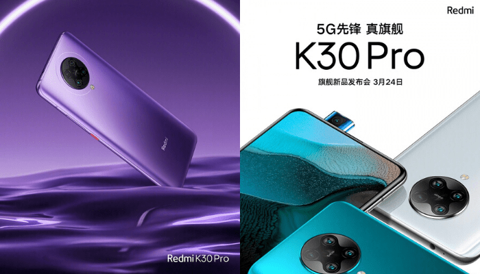 redmi k30 pro pop up camera