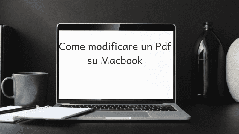Come modificare un pdf su Mac online gratis