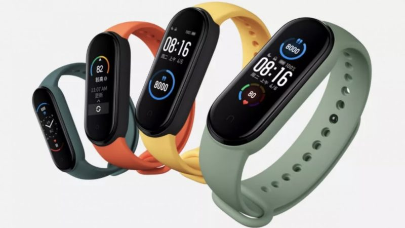 xiaomi mi band 5 colorazioni