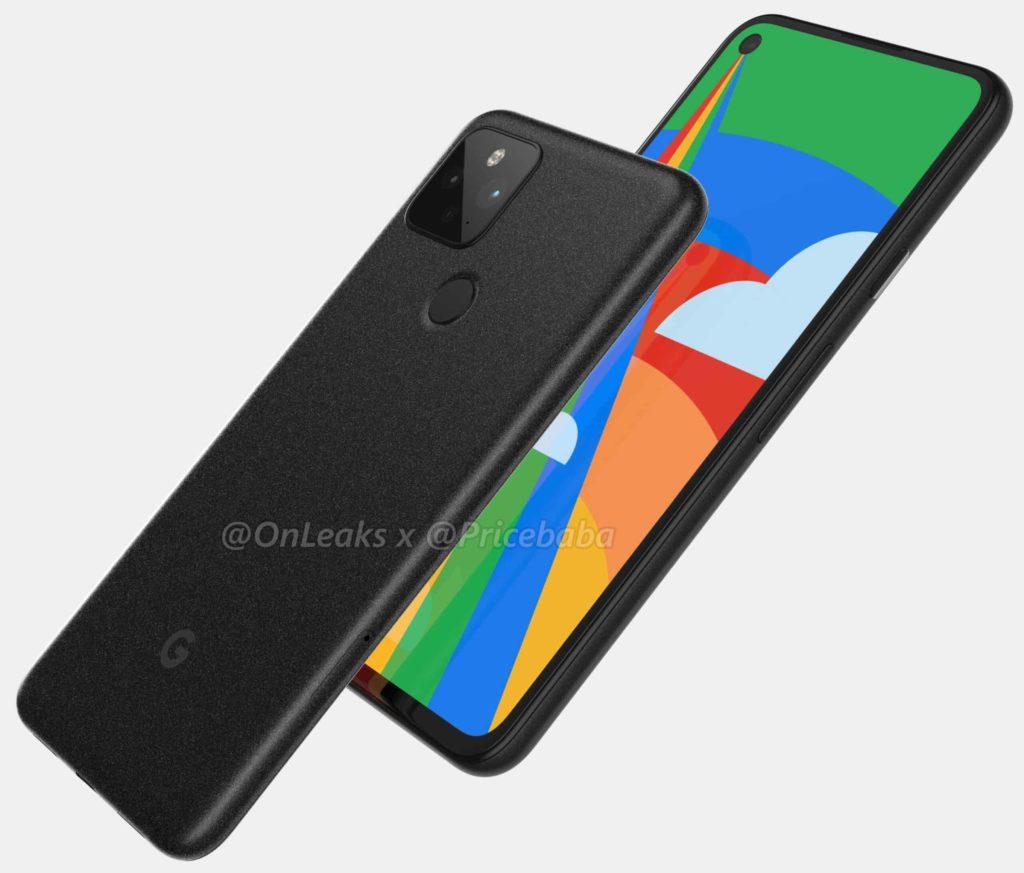 google pixel 5 back cover