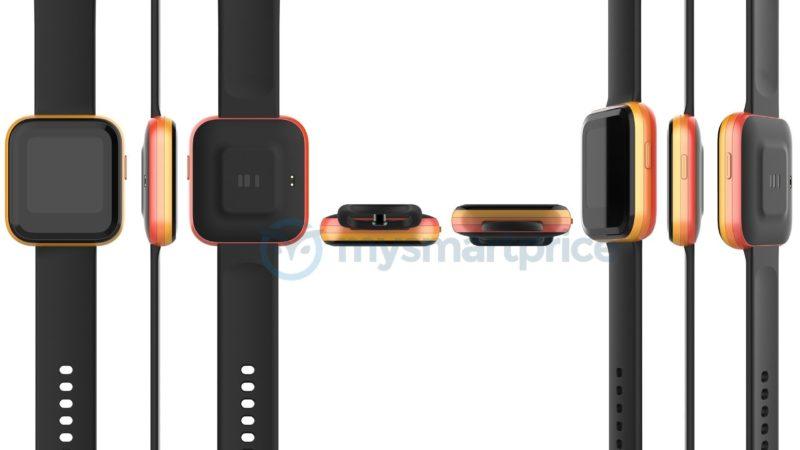 realme smartwatch nero