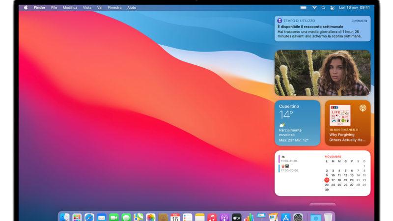 Widget mac