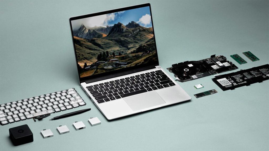 Framework laptop modulabile
