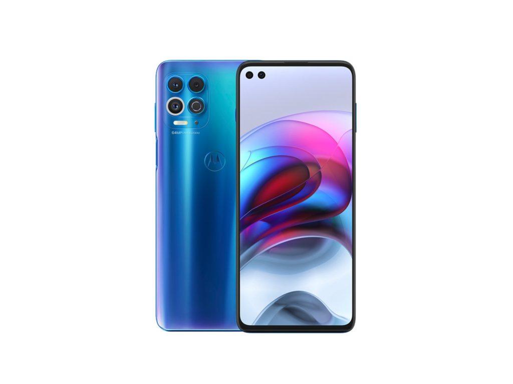 Motorola g100 colorazione blu