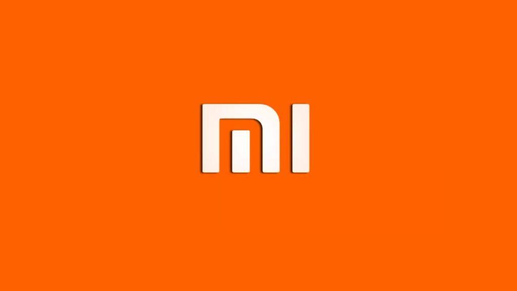 Xiaomi logo arancione