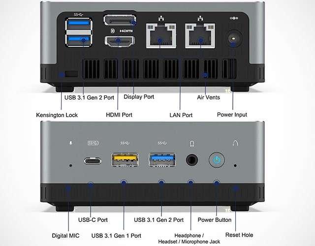 Minisforum UM700 mini pc